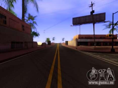 Verbesserte textur von Straßen für GTA San Andreas zweiten Screenshot