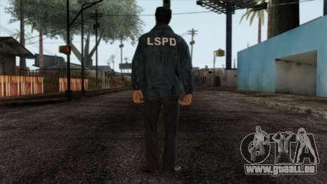 Police Skin 4 für GTA San Andreas zweiten Screenshot
