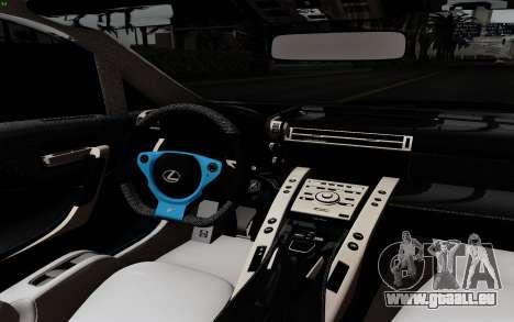 Lexus LF-A 2010 pour GTA San Andreas vue arrière