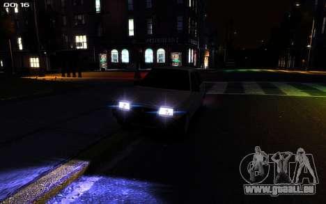 VAZ 2109 für GTA 4 Rückansicht