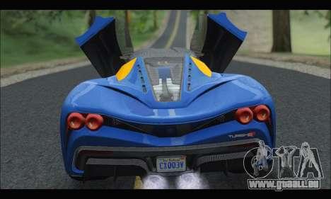 Grotti Turismo R v2 (GTA V) pour GTA San Andreas vue de droite