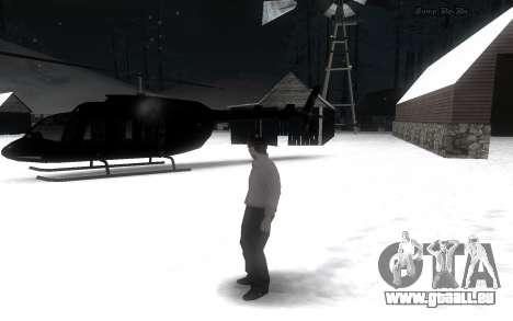 Snow Mod pour GTA San Andreas deuxième écran