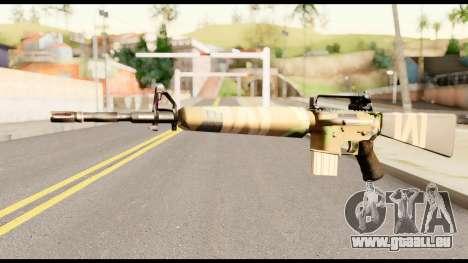 M16 from Metal Gear Solid für GTA San Andreas