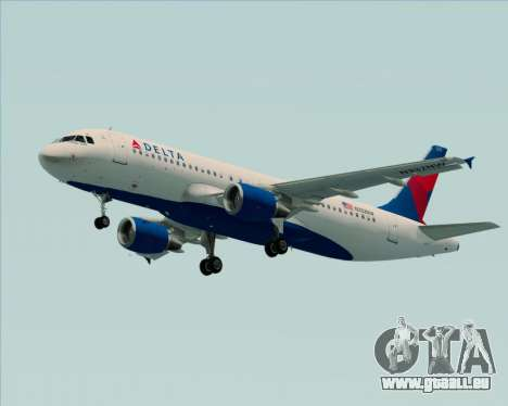 Airbus  A320-200 Delta Airlines pour GTA San Andreas