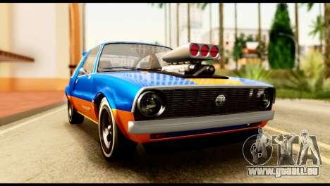 Declasse Rhapsody from GTA 5 für GTA San Andreas