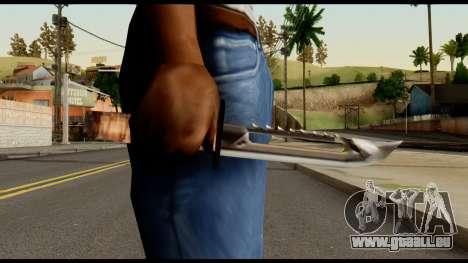Survival Knife from Metal Gear Solid pour GTA San Andreas troisième écran