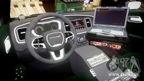 Dodge Charger 2015 County Sheriff [ELS] pour GTA 4 Vue arrière