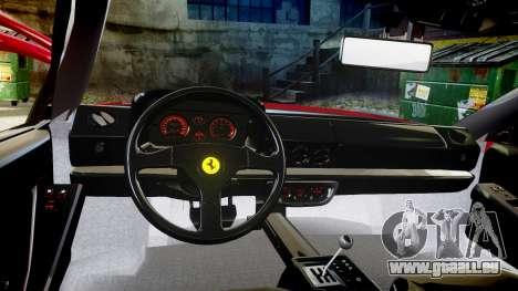 Ferrari Testarossa 1986 v1.2 [EPM] für GTA 4 Rückansicht