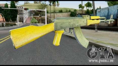 AK47 from Max Payne für GTA San Andreas zweiten Screenshot