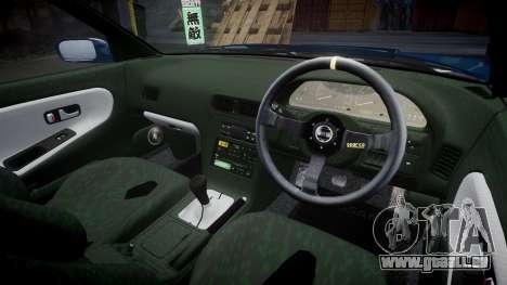 Nissan Silvia S13 1JZ pour GTA 4 est un côté