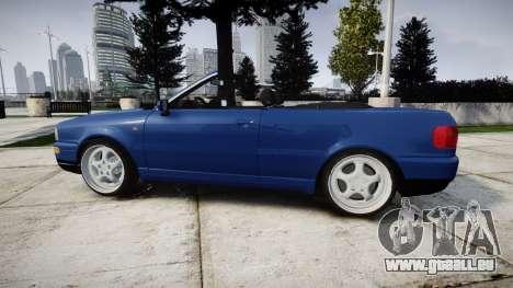 Audi 80 Cabrio us tail lights für GTA 4 linke Ansicht