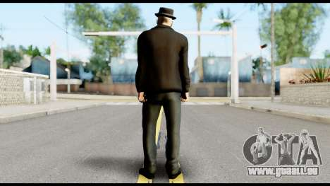Heisenberg from Breaking Bad v2 pour GTA San Andreas deuxième écran