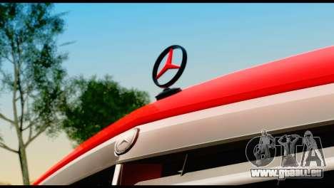 Mercedes-Benz E250 für GTA San Andreas Rückansicht