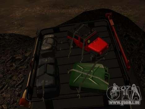 Jeep Wrangler 1986 Trophée pour GTA San Andreas sur la vue arrière gauche