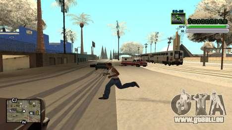 C-HUD v5.0 pour GTA San Andreas deuxième écran