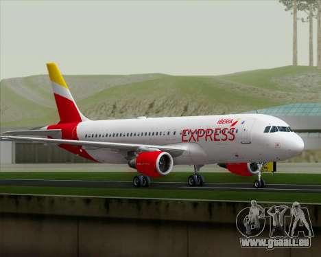 Airbus A320-200 Iberia Express für GTA San Andreas rechten Ansicht