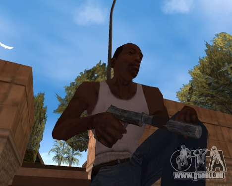 Neues Jahr-Waffen-Pack für GTA San Andreas