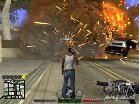 C-HUD v2.0 für GTA San Andreas dritten Screenshot