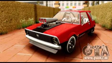 Declasse Rhapsody from GTA 5 IVF pour GTA San Andreas