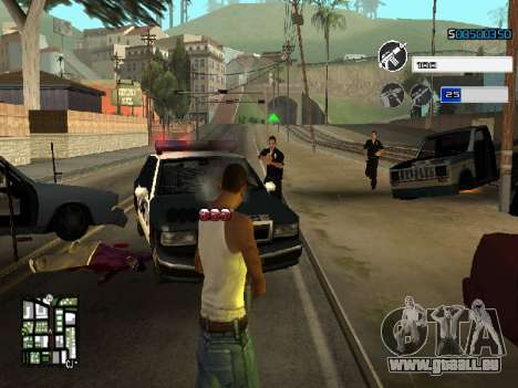 C-HUD by SampHack v.22 für GTA San Andreas dritten Screenshot