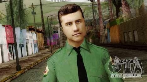 Police Skin 8 pour GTA San Andreas troisième écran
