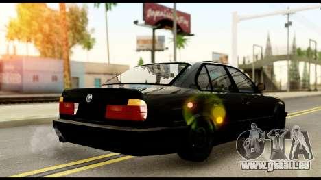 BMW E32 für GTA San Andreas linke Ansicht