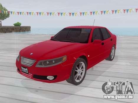 Saab 95 pour GTA San Andreas sur la vue arrière gauche