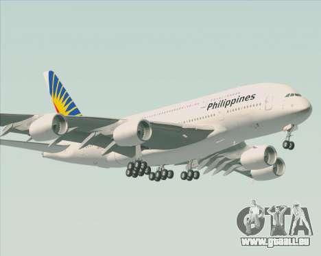 Airbus A380-800 Philippine Airlines pour GTA San Andreas vue arrière