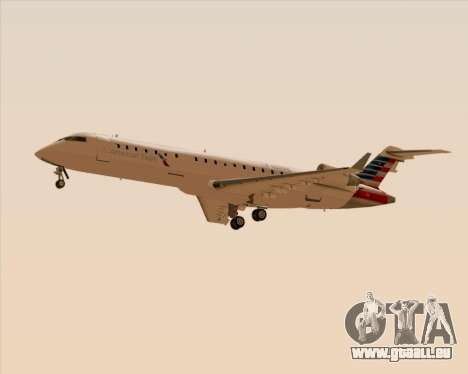 Bombardier CRJ700 American Eagle Airlines für GTA San Andreas Seitenansicht