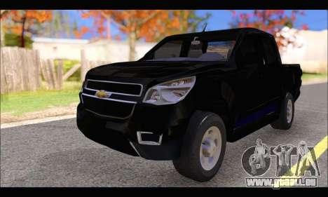 Chevrolet S10 LS 2014 für GTA San Andreas