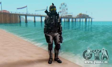 C.E.L.L. Soldier (Crysis 2) pour GTA San Andreas deuxième écran