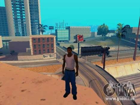 Graphique Mod Eazy v1.2 pour les faibles PC pour GTA San Andreas sixième écran