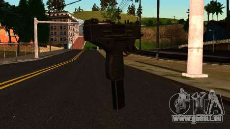 Micro SMG from GTA 4 für GTA San Andreas zweiten Screenshot