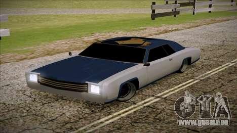 Buccaneer 2.0 für GTA San Andreas