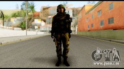 Engineer from Battlefield 4 pour GTA San Andreas