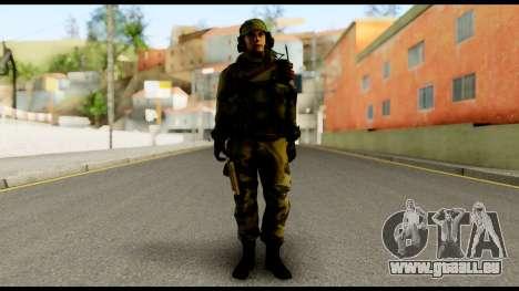 Engineer from Battlefield 4 für GTA San Andreas