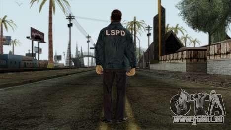 Police Skin 9 pour GTA San Andreas deuxième écran