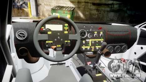 Ferrari F430 GT 2011 Pacific NAC Ikamusume pour GTA 4 Vue arrière