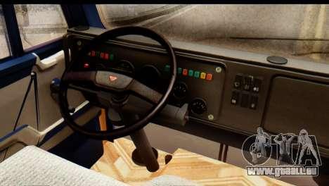 KamAZ 65115 Schneefräse für GTA San Andreas Seitenansicht