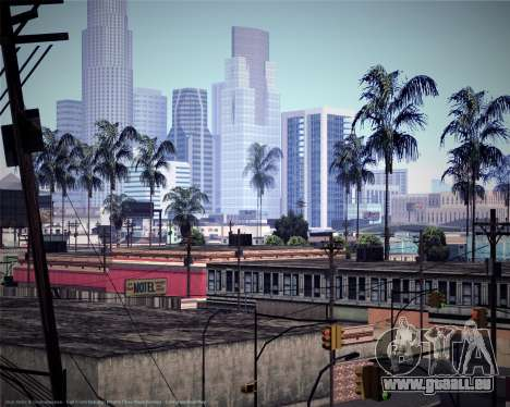 ENBSeries pour les faibles et moyennes PC pour GTA San Andreas