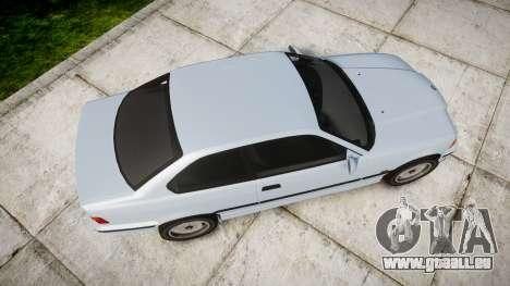 BMW E36 M3 [Updated] pour GTA 4 est un droit