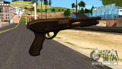 Combat Shotgun from GTA 4 für GTA San Andreas zweiten Screenshot