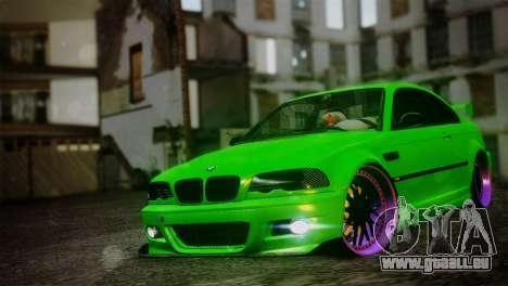 BMW M3 E46 MILKA pour GTA San Andreas