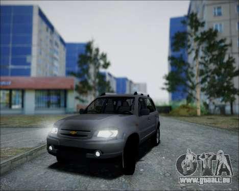 Chevrolet Niva pour GTA San Andreas vue de droite