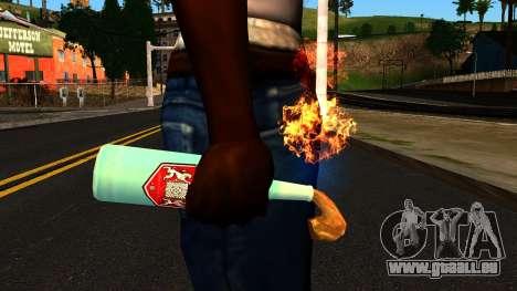 Molotov Cocktail from GTA 4 pour GTA San Andreas troisième écran