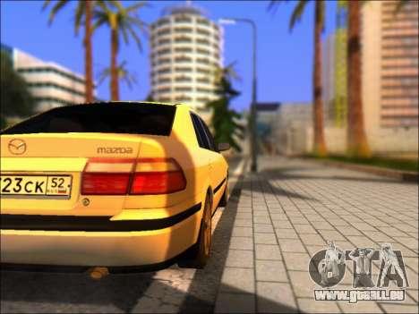 Mazda 626 für GTA San Andreas zurück linke Ansicht