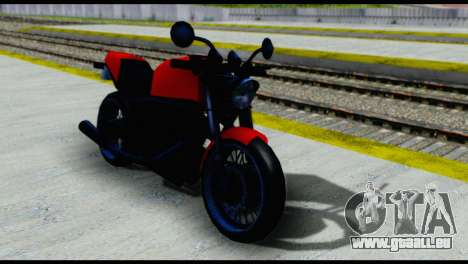 Streetfighter from Vice City Stories pour GTA San Andreas