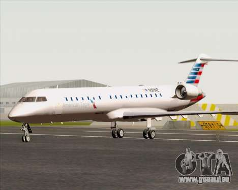 Bombardier CRJ700 American Eagle Airlines pour GTA San Andreas sur la vue arrière gauche