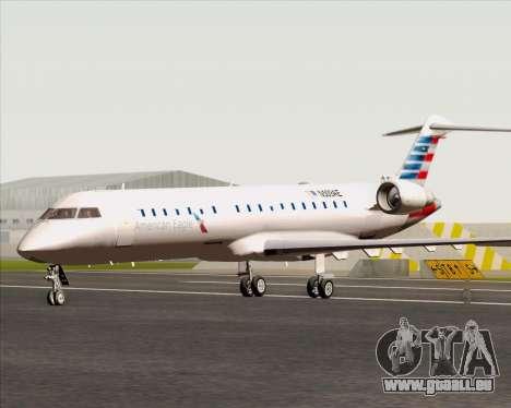 Bombardier CRJ700 American Eagle Airlines für GTA San Andreas zurück linke Ansicht