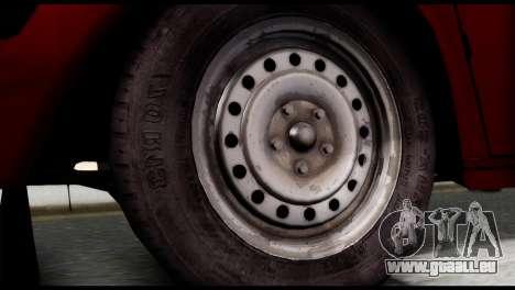 GAZ 3110 Volga pour GTA San Andreas vue arrière